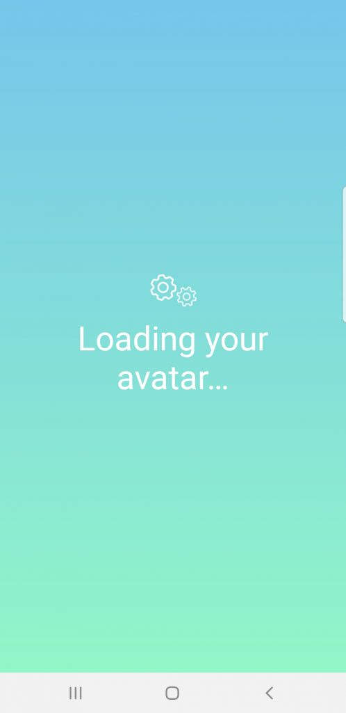 Loading your avatar...